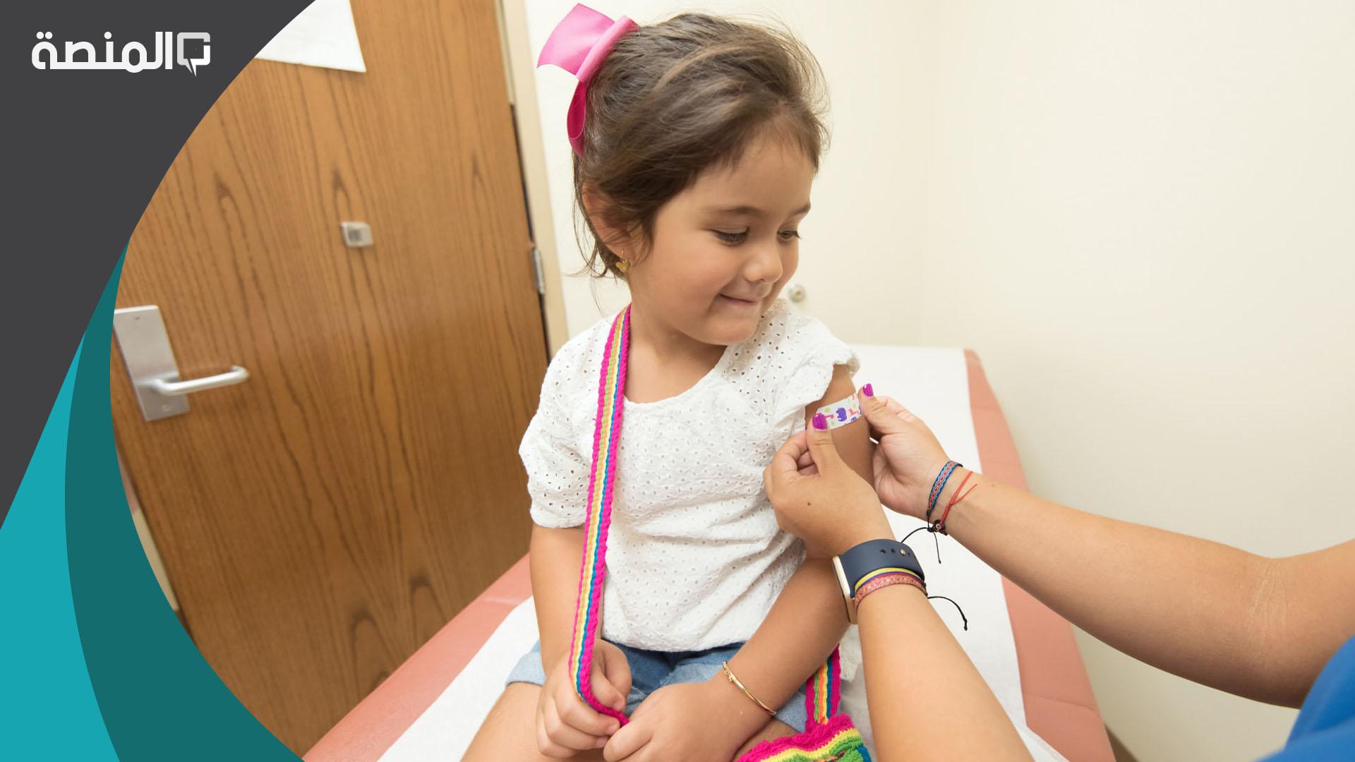 حجز موعد تطعيم الاطفال 1442 المنصة