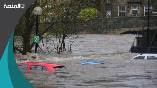 تفسير رؤية الهروب من الفيضان في الحلم