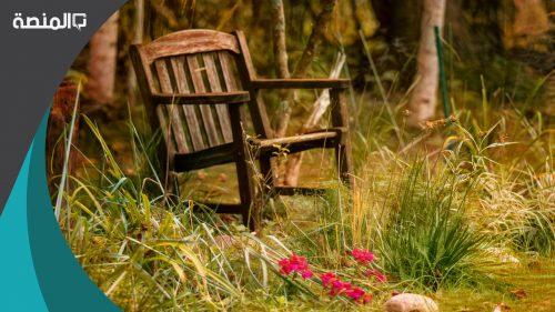 تفسير رؤية الجلوس مع شخص آخر على كرسي خشبي