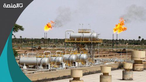عدد الآبار النفطية التى أحرقها النظام العراقى