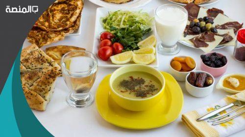 افضل وجبات السحور في رمضان