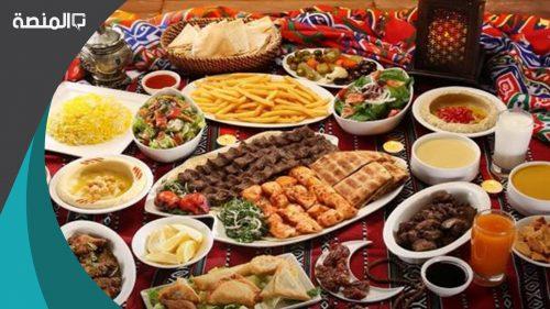 أفكار عن أكلات في رمضان 2021