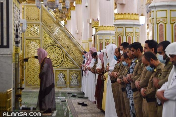 جدول التهجد في المسجد النبوي 1442