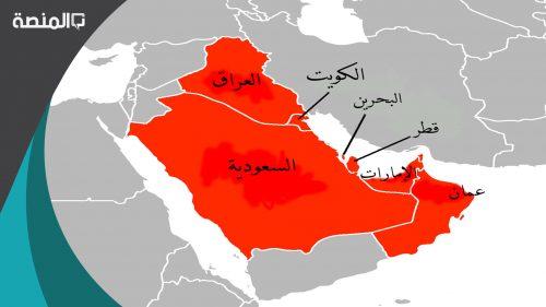 ترجع اصول السلالات السكانية في منطقة الخليج العربية الى