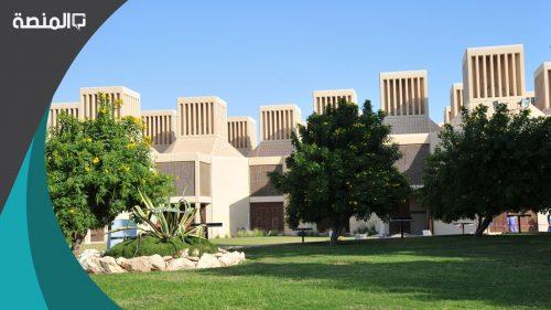 مباني جامعة قطر الجديدة 2021